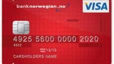 Lån op til  hos Bank Norwegian - Kredittkort