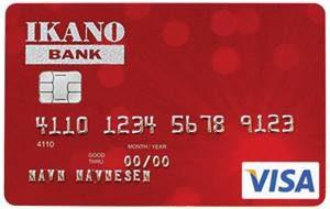 ikano credit card