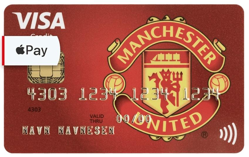 Lån op til 100.000 hos Manchester United Visa